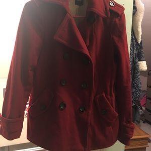 Red Gap Pea Coat